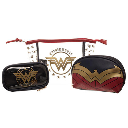 WONDER WOMAN 3 Piece Cosmetic Makeup Set