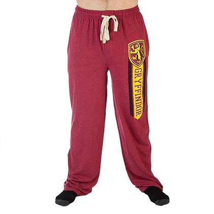HARRY POTTER Gryffindor Red Sweatpants