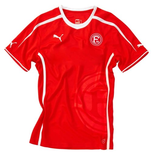 2014-2015 Fortuna Dusseldorf Puma Player Issue Home Shirt
