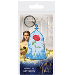 The beauty and the beast Keychain 286449