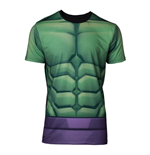MARVEL COMICS Incredible Hulk Men's Sublimation T-Shirt, Small, Multi-colour
