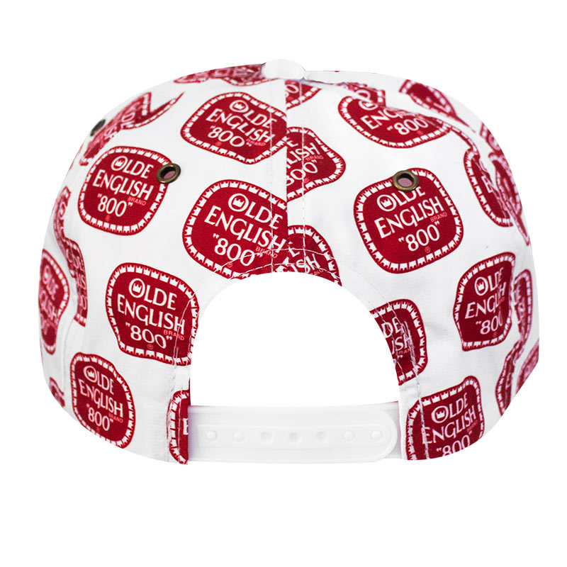 OLDE ENGLISH Snapback All Over Print Hat
