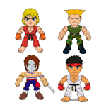 Street Fighter Action Vinyl Mini Figures 8 cm Wave 1 Display (16)