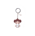 Star Wars - Princess Leah Rubber Keychain