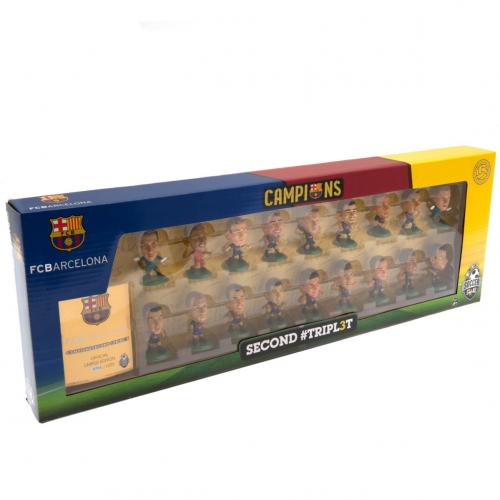 F.C. Barcelona SoccerStarz Treble Winners Team Pack C