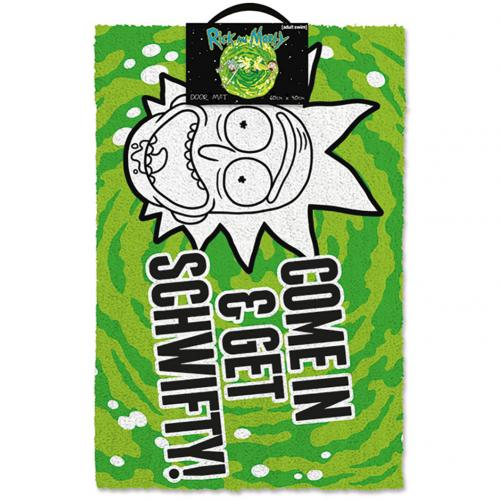 Rick And Morty Doormat Schwifty