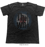 The Who Men's Fashion Tee: Target (Vintage Finish)
