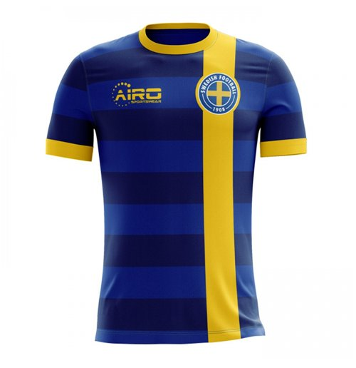 2018-2019 Sweden Away Concept Football Shirt