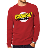 Big Bang Theory - Bazinga - Unisex Sweatshirt Red