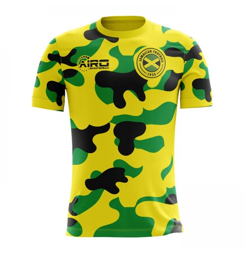 2018-2019 Jamaica Home Concept Football Shirt (Kids)