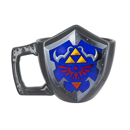 The LEGEND OF ZELDA Triforce Shield Mug