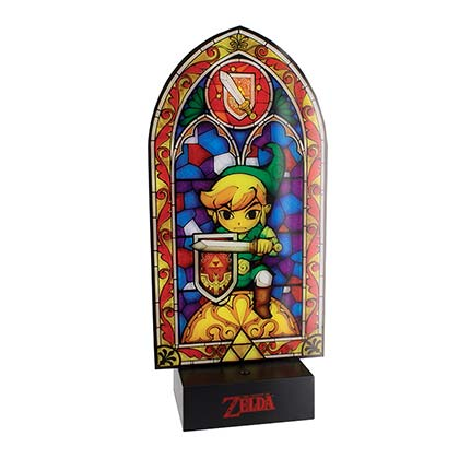 The LEGEND OF ZELDA Stained Glass Light