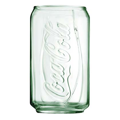 Coca Cola Can Pint Glass