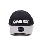Nintendo - Black/Grey Gameboy Logo Curved Bill