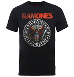Ramones Men's Tee: Vintage Eagle Seal