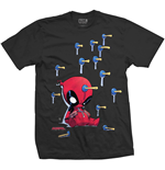 Marvel Comics Men's Tee: Deadpool Suckers