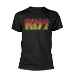 Kiss T-shirt Colour Gradient Logo
