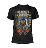Gas Monkey Garage T-shirt Go Big Or Go Home