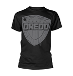 2000AD Judge Dredd T-shirt Jumbo Badge