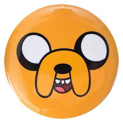 ADVENTURE TIME Jake Button