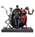 DC Gallery Bookends The Joker & Harley Quinn 22 cm