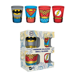 DC Comics Premium Shotglass 4-Pack Costumes