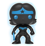 DC Comics POP! Heroes Vinyl Figure Wonder Woman Silhouette GITD 9 cm