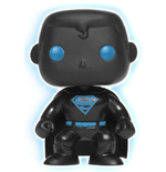 DC Comics POP! Heroes Vinyl Figure Superman Silhouette GITD 9 cm
