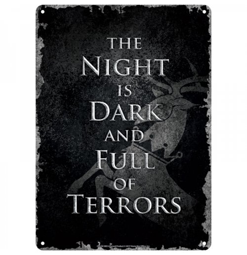 Official Game Of Thrones Sign 289135 Buy Online On Offer