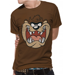 Looney Tunes - Taz Face - Unisex T-shirt Brown