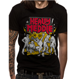 Scooby Doo - Heavy Meddle - Unisex T-shirt Black