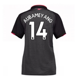 2017-18 Arsenal Third Womens Shirt (Aubameyang 14)