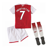 2017-18 Arsenal Home Mini Kit (Mkhitaryan 7)