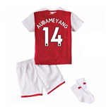2017-18 Arsenal Home Baby Kit (Aubameyang 14)