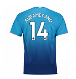 2017-2018 Arsenal Away Shirt (Aubameyang 14)