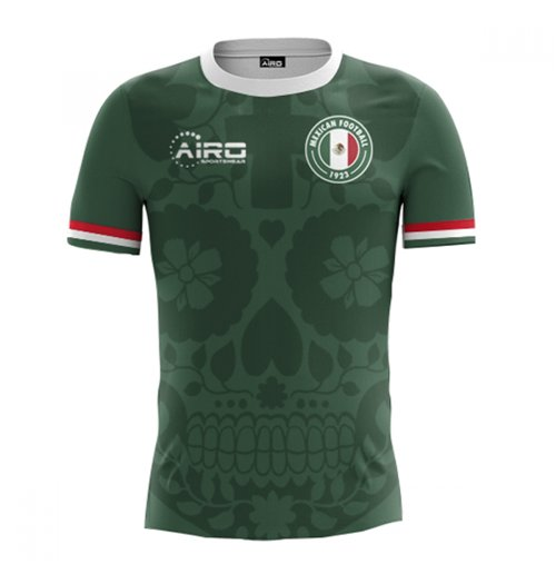 2018-2019 Mexico Home Concept Football Shirt for only C$ 61.47 at ...