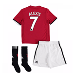 2017-18 Man United Home Mini Kit (Alexis 7)