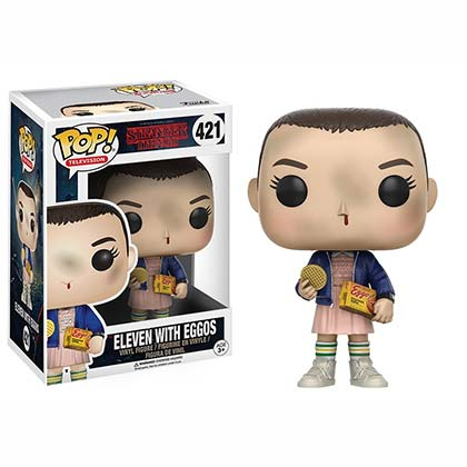 STRANGER THINGS Funko Pop Eggo Eleven Vinyl Figure