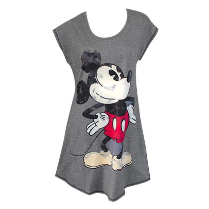 Mickey Mouse Women's Grey Night Shirt