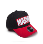 Marvel - Red Brick Logo Curved Bill Cap