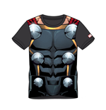 MARVEL COMICS Thor Men's Suit Sublimation T-Shirt, Small, Multi-colour