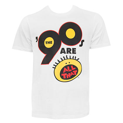 NICKELODEON All That 90's White Tee Shirt