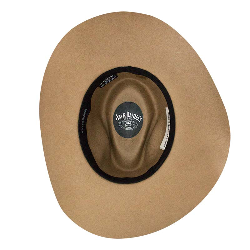6cd4c1935ad28 Buy Official JACK DANIELS Soft Wool Beige Water Repellant Hat