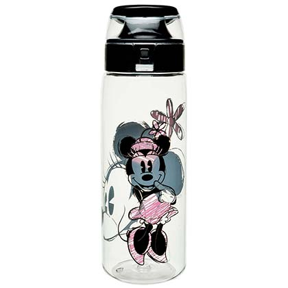 Minnie Mouse Sketch Water Bottle