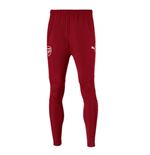 2017-2018 Arsenal Puma Fitted Training Pants with Pockets (Chilli Pepper) - Kids