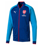 2017-2018 Arsenal Puma Stadium Jacket (Limoges)