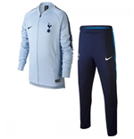 2017-2018 Tottenham Nike Dry Tracksuit (Light Blue) - Kids