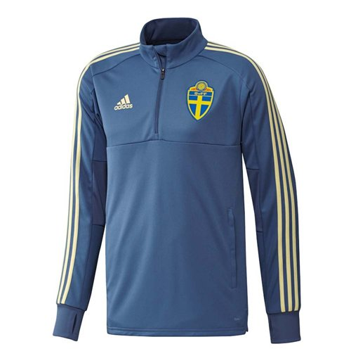2018-2019 Sweden Adidas Training Top (Trace Royal)