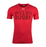 2018-2019 Wales Rugby WRU Graphic Tee (Red)