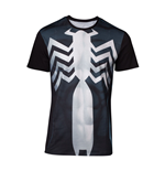 MARVEL COMICS Spider-man Men's Venom Suit Sublimation T-Shirt, Small, Multi-colour